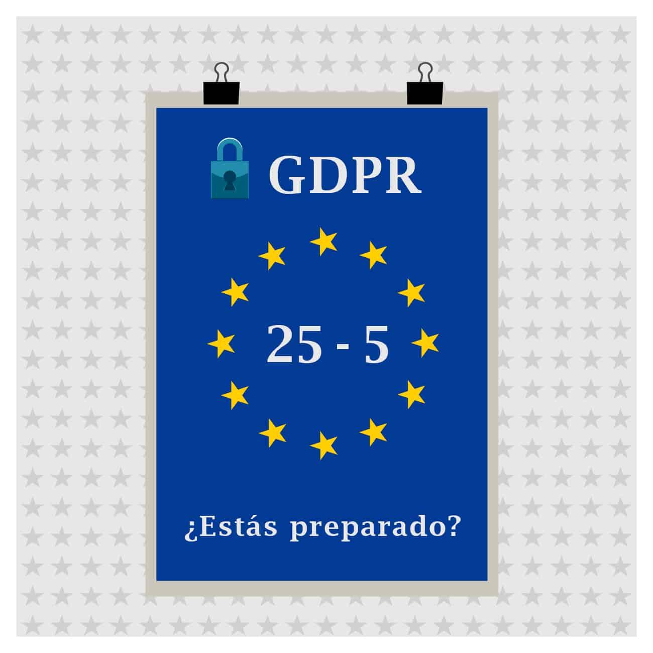 GDPR - RGPD - ADM Tools - Consultora tecnológica - España